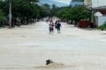 Lũ đang dâng rất cao tại Ninh Thuận, Khánh Hòa