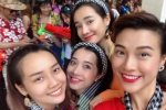 Mặc Trường Giang truyền nước biển, Nhã Phương cùng Ái Phương vui vẻ bên hội bạn ở Thái Lan