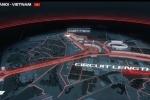 Đường đua F1 Việt Nam Grand Prix 2020: Tái hiện 22 khúc cua nổi tiếng thế giới