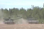 Xem xe tăng Nga khoe 'vũ đạo' trên thao trường