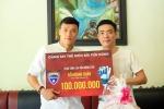 Tặng 100 triệu đồng giúp nhà vô địch SEA Games chữa ung thư, Bùi Tiến Dũng nhận lời khuyên quý giá