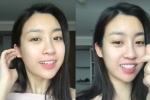 Hoa hậu Mỹ Linh tự tin khoe mặt mộc cực xinh đẹp