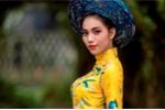 Nữ sinh khoe dáng như siêu mẫu trong bộ ảnh đón Xuân