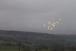 UFO chao lượn trên bầu trời Anh?