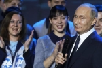 Video: Dân Nga hò reo khi ông Putin tuyên bố tái tranh cử tổng thống