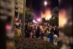 Clip: Cháy ngùn ngụt tại chợ Gạo ở Hưng Yên