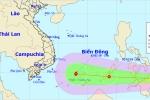 Biển Đông sắp hứng cơn bão đầu tiên năm 2018