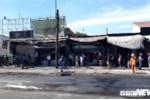 Ảnh: Tan hoang hiện trường xe bồn chở xăng bốc cháy khiến 6 người chết ở Bình Phước