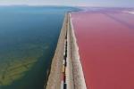 Clip: Giải mã bí ẩn hồ nước chia 2 màu xanh - hồng đẹp như tiên cảnh