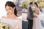 Hé lộ loạt ảnh cưới lãng mạn của Á hậu Thanh Tú và chồng doanh nhân tại Paris