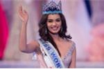 Nhan sắc ngọt ngào rực rỡ của tân Hoa hậu Thế giới 2017