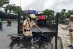 Mất xe máy của người vi phạm trong trụ sở Đội CSGT Cát Lái