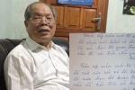 PGS.TS Bùi Hiền viết thư tay bằng chữ cải tiến chúc năm mới xuân Mậu Tuất 2018