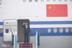 Những hình ảnh đầu tiên của Chủ tịch Trung Quốc Tập Cận Bình tại Hà Nội