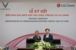 VinFast và LG Chem hợp tác sản xuất pin tiêu chuẩn quốc tế