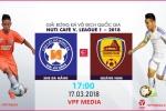Video trực tiếp SHB Đà Nẵng vs Quảng Nam vòng 2 V-League 2018