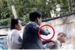 Clip giám đốc công ty bảo vệ ở Sài Gòn nổ súng, dí vào đầu phụ nữ