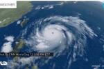 Siêu bão Meranti giật cấp 17 tiến vào Biển Đông