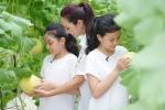 Xem mẹ con Thanh Vân Hugo, siêu mẫu Thuý Hạnh hào hứng 'làm nông dân'
