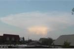 Clip đám mây hình nấm khổng lồ như tận thế bao trùm bầu trời Nga