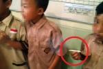 Hiệu trưởng bắt học sinh 8 tuổi hút thuốc lá để trừng phạt gây phẫn nộ