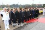 Lãnh đạo Đảng, Nhà nước viếng Lăng Chủ tịch Hồ Chí Minh nhân dịp Tết Mậu Tuất 2018