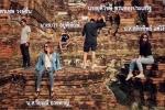 Tạo dáng chụp ảnh trên chùa cổ, 5 bạn trẻ đối mặt nguy cơ ngồi tù