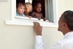 Nhìn lại những khoảnh khắc đáng nhớ của Tổng thống Obama
