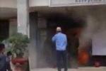Nghệ An: Kẻ lạ mặt ném bom xăng, ga Vinh hỗn loạn