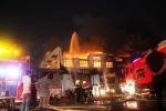 Cháy dữ dội tại công ty VietNam Samho: Đã xác định nơi phát hỏa