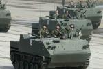 Video: Những vũ khí Nga tối tân chưa từng thấy tập luyện duyệt binh Ngày Chiến thắng