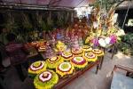 Choáng với mâm lễ 'khủng' ở lễ hội đền Trần