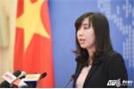 Bộ Ngoại giao: Trung Quốc tuyên bố huấn luyện bắn đạn thật ở Hoàng Sa là xâm phạm chủ quyền Việt Nam