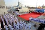 Thượng cờ 2 tàu hộ vệ tên lửa Gepard 3.9 Quang Trung, Trần Hưng Đạo