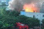 Cơ sở sang chiết gas bốc cháy ngùn ngụt sau tiếng nổ lớn