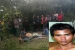 Bé gái 14 tuổi bị hiếp dâm, giết rồi giấu xác trong bụi cây: Di lý hung thủ thực nghiệm lại hiện trường