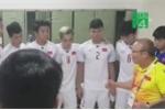 Video: HLV Park Hang-seo động viên học trò đánh bại Hàn Quốc ở bán kết