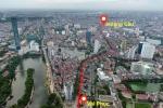Flycam: Toàn cảnh tuyến đường 'đắt nhất hành tinh' vừa được Hà Nội phê duyệt