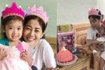Clip: Diễn viên Mai Phương đón sinh nhật con gái trong bệnh viện