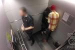 Phản ứng khó tin của mọi người khi thấy cô gái bị người yêu đánh trong thang máy