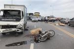 Va chạm chết người trên cầu Vĩnh Tuy: tài xế ra trình diện