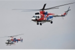 Video: Trực thăng Nga trình diễn trên bầu trời Hà Nội