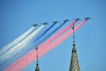 Video: Mãn nhãn màn diễn tập của không quân Nga mừng Ngày Chiến thắng