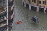 Ảnh, video: Siêu bão MANGKHUT càn quét, Macau chìm trong biển nước