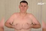 Uống nhiều sữa đậu nành, quý ông có ngực to như phụ nữ