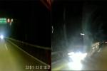 Video: Tài xế máu lạnh lao ô tô ngược chiều cao tốc Nội Bài- Lào Cai
