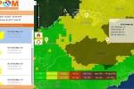 Hệ thống quản lý và cảnh báo ô nhiễm không khí sử dụng ảnh vệ tinh
