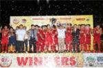 Ảnh: U19 Việt Nam thắng tuyệt đối, bảo vệ thành công chức vô địch