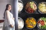 Bà bầu 19 tuổi dậy từ 6 rưỡi sáng nấu cơm cho chồng mang đi làm gây sốt mạng xã hội