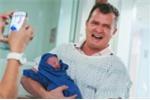'Rơi nước mắt' khi xem loạt ảnh cha đón con chào đời đầy xúc động